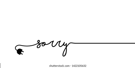 Sorry Images, Stock Photos & Vectors | Shutterstock