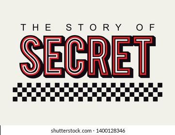 slogan the story of secret