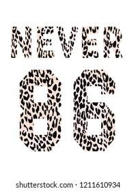 slogans leopar love