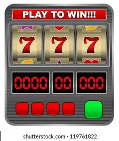 Slot machine - jack pot