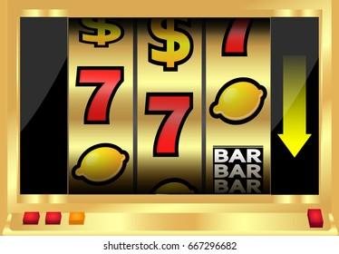 Slot machine monitor