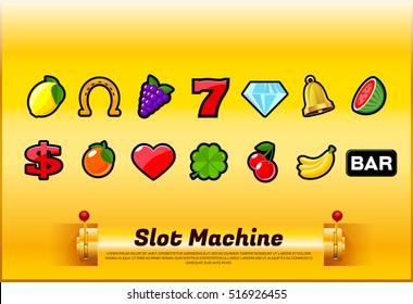slot machine symbols