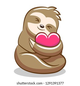 sloth clipart design