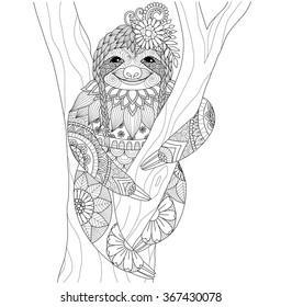 Mandalas Tiere Stock Vektorgrafiken Bilder Und