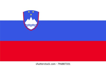 Slovenia national flag