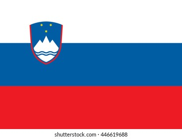 Slovenia Vector Flag
