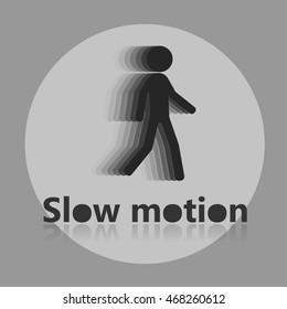 Slow motion icon.
