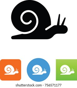 Slow Snail Icon