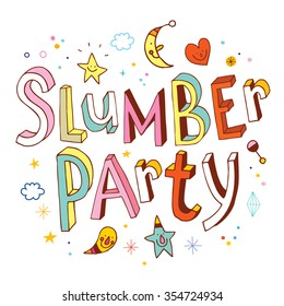 slumber party images stock photos vectors shutterstock rh shutterstock com Clip Art Birthday Party slumber party clipart free