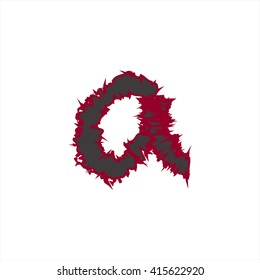 small abstract font color a compatible with abstract font color A-Z and can to do many thing on web design or website.