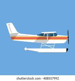 Vectores, imágenes y arte vectorial de stock sobre Seaplane