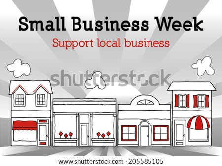 1e20b89df Small Business Week to honor and celebrate American top small business  owners and entrepreneurs. Retro