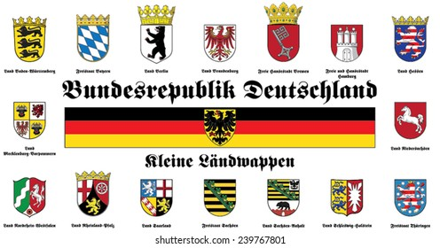 small coat of arms of Federal Republic of Germany