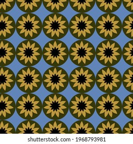 Small Flower for Textile print of fabric, linen, chiffon
