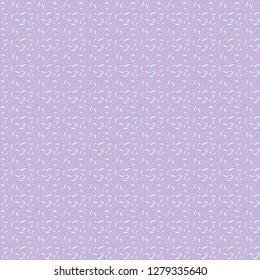 Small lilac abstract seamless vector ornament. Texture for the substrate of the main picture