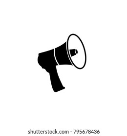 Small megaphone vector icon