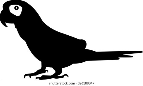 Small Parrot Silhouette