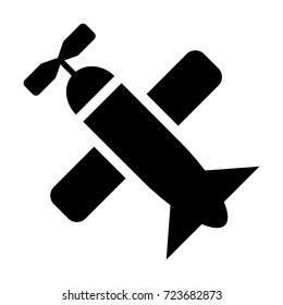 Small Plane vector icon