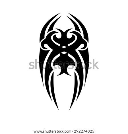 Small Tattoo Designs Men Vector De Stock Libre De Regalias