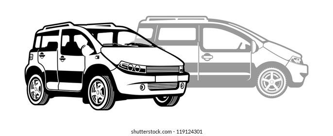 small utility car