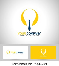 Smart Business Logo Concept. Corporate business logo with business card template.