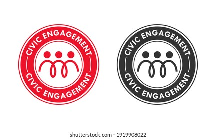 Smart ecosystem- community alliances logo template illustration