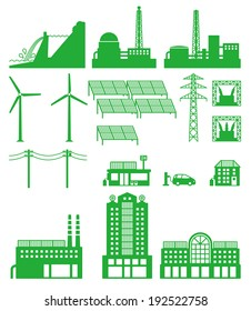 Smart grid of power