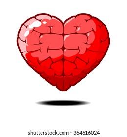 smart heart smart love Vector
