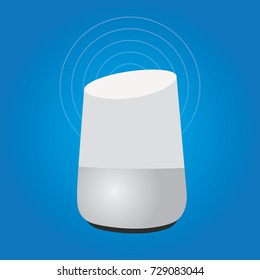 smart home assistant intelligence speaker technology device internet of things smart speaker