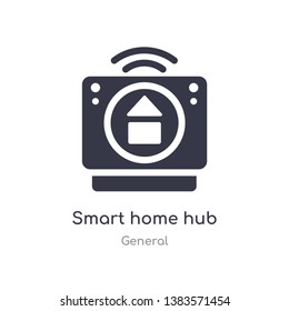 smart home hub icon. isolated smart home hub icon vector illustration from general collection. editable sing symbol can be use for web site and mobile app