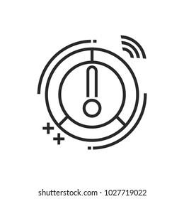 Smart Meter Vector Icon