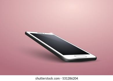 Smart Phone. Different angle