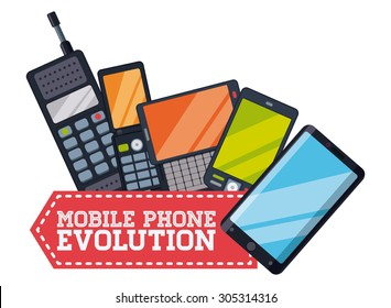 Smart phone icons, vector illustration eps 10 graphic