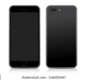 Smart Phone Template : Vector Illustration