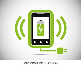 Smart phone With Wireless Charger