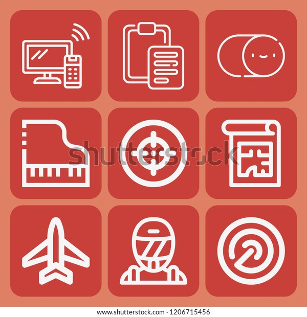 Smart Tv Race Switch Paste Blueprint Stock Vector (Royalty Free