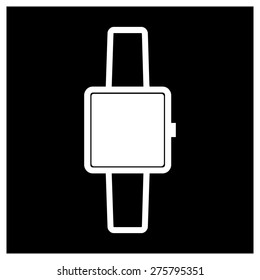 Smart watch icon vector illustration