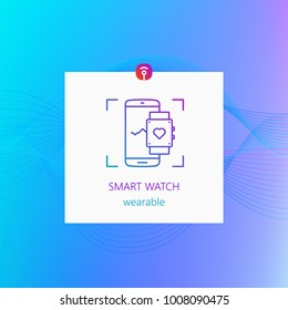 Smart watch wearable gadget