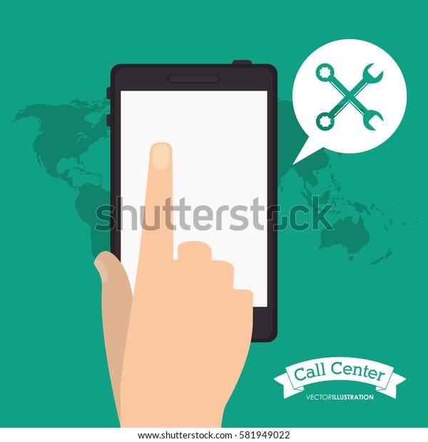 smartphone call center application world
