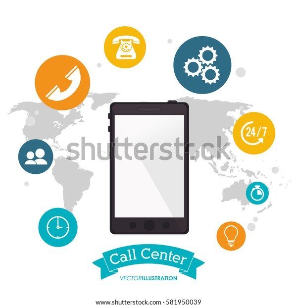 smartphone call center technology global application