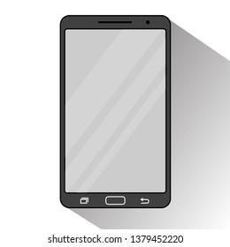 Smartphone Flat Design. Vector. Illustration