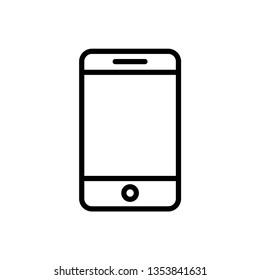 Smartphone icon design template