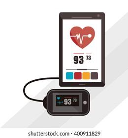 smartphone icon design, vector illustration