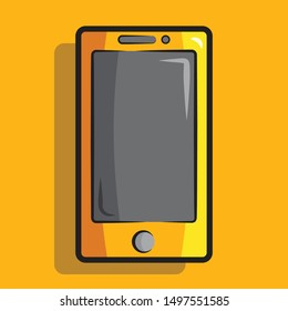 smartphone icon with modern concept