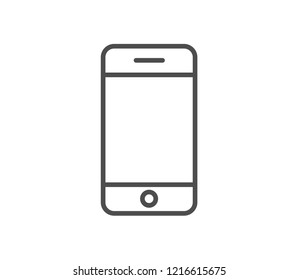 Smartphone icon . Vector