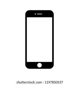 Smartphone icon vector illustration. Flat Icon Mobile Phone, Handphone