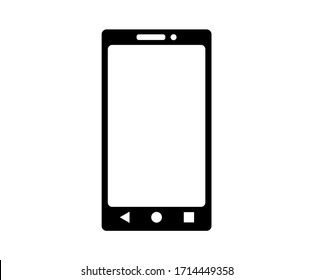 Smartphone icon vector isolated. Phone Tablet illustration.