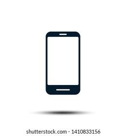 Smartphone Icon Vector Logo Template. Trendy Device Illustration Design.