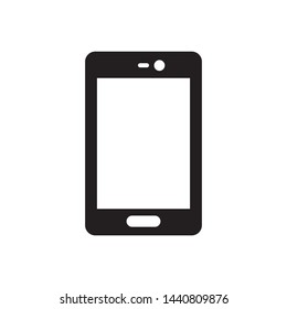 smartphone icon vector in simple style