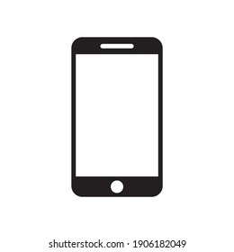 smartphone icon,mobile phone vector illustration